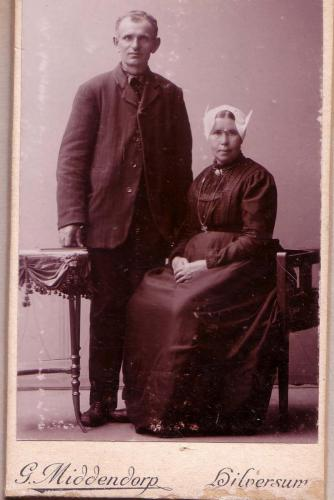 Aard Schaapherder en zijn vrouw