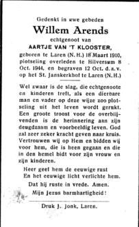 Arends, Willem - 1910 (1)
