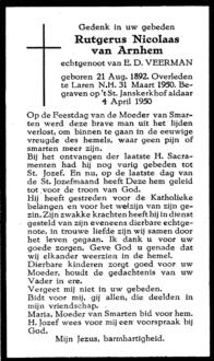 Arnhem, Rutgerus Nicolaas van - 1892 (1)