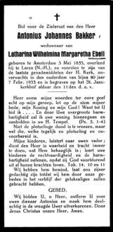 Bakker, Antonius Johannes - 1853 (1)