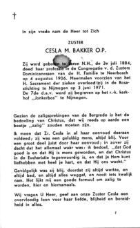 Bakker, Cesla M. - 1884 (1)