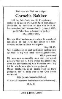 Bakker, Cornelis - 1867 (1)