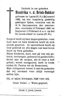 Bakker, Hendrika - 1883 (1)
