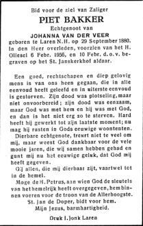 Bakker, Piet - 1880 (1)