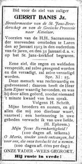 Banis, Gerrit Jz. - 1852 (1)