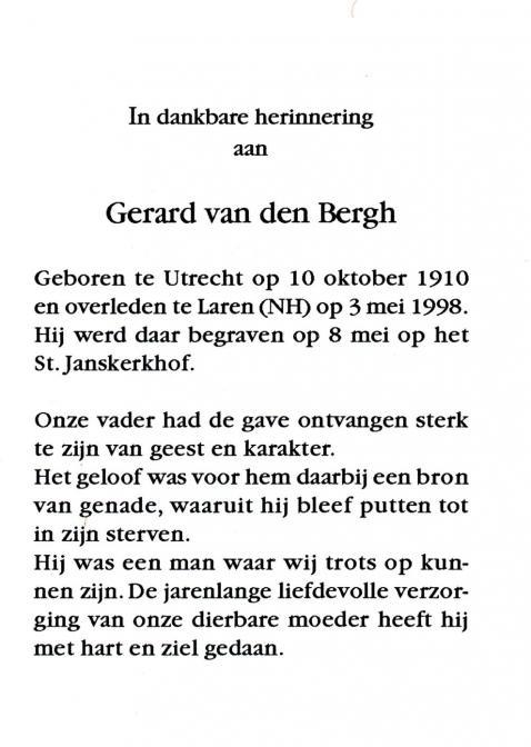Bergh, Gerard van den - 1910 (1)