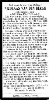 Bergh, Nicolaas van den - 1852 (1)