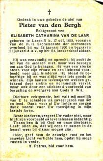 Bergh, Pieter van den - 1888 (1)