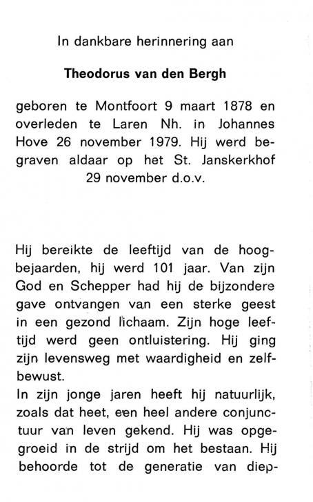 Bergh, Theodorus van den - 1878 (1)
