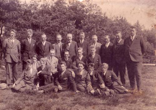 Bestuur van de Vereniging 't Klooster, ± 1930