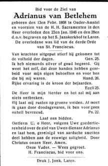 Betlehem, Adrianus van - 1868 (1)