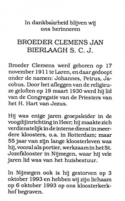 Bierlaagh, Clemens Jan - 1911 (1)