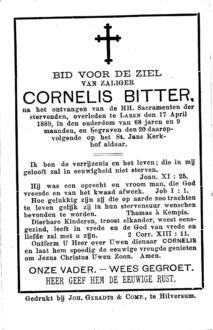 Bitter, Cornelis - 1821 (1)