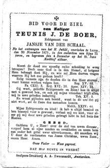 Boer, Teunis J. de - 1875 (1)
