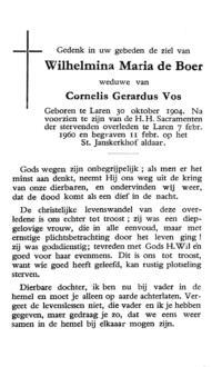 Boer, Wilhelmina Maria de - 1904 (1)