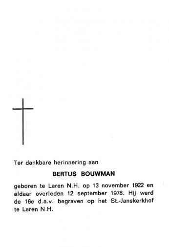 Bouwman, Bertus - 1922 (1)