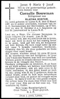 Bouwman, Cornelis - 1887 (1)