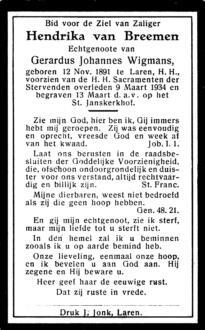 Breemen, Hendrika van - 1891 (1)