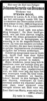 Breemen, Johanna Gerarda van - 1878  (1)