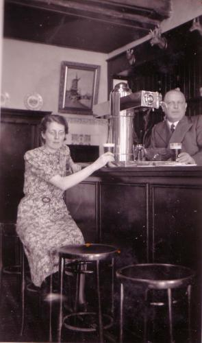 Cle Duurland in de Boerenhofstede, 1938
