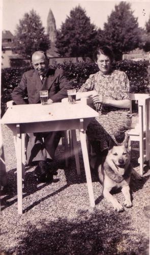 Cle Duurland voor de Boerenhofstede, 1938