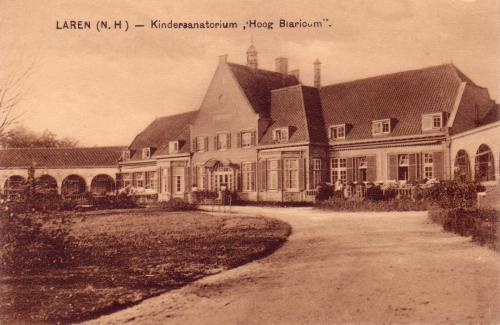 """Crailo, Kinder sanatorium """"Hoog Blaricum"""""""