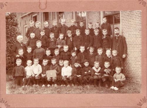Klas Dorpsschool, 1901
