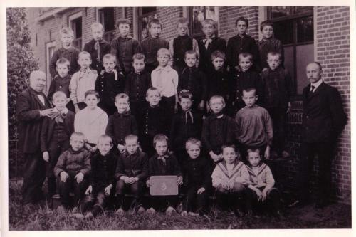 Klas Dorpsschool, 1910