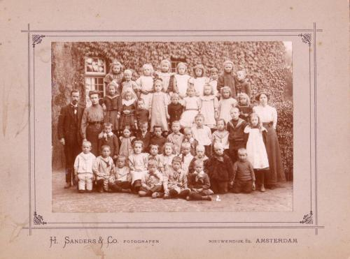 Klas Dorpsschool, jaartal onbekend