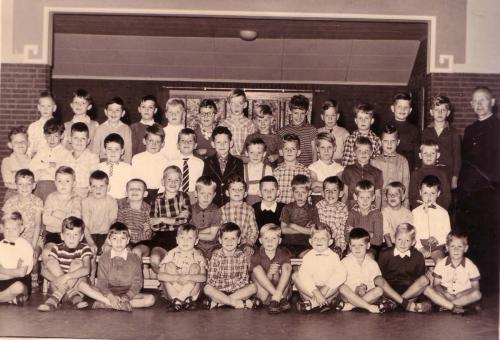 Klassefoto, jaartal onbekend