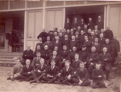 Larense deelnemers aan retraite Amersfoort 1917