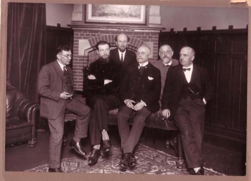 Larense kunstschilders 1930 Schulman briede Nieuwenhoven Breman Heijenbrok Knip