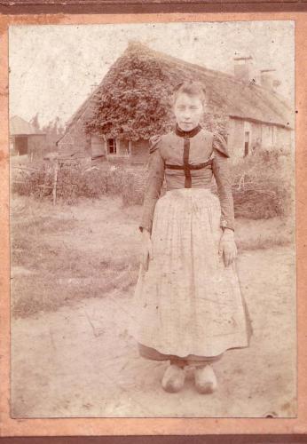 Marrie Zwanikken (Pompes), 1900