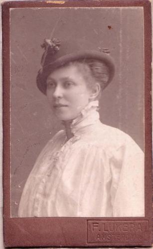 Mevrouw Kwak, ± 1900-1914