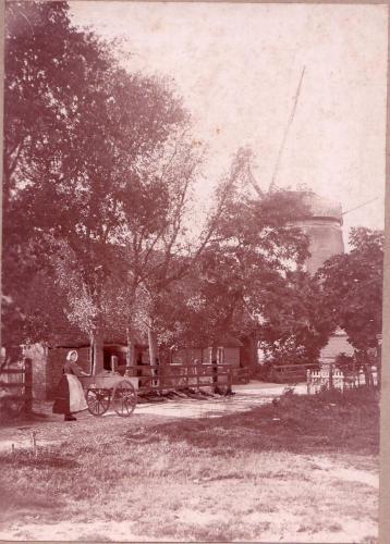 Molen Laren 18996 foto Van Faassen
