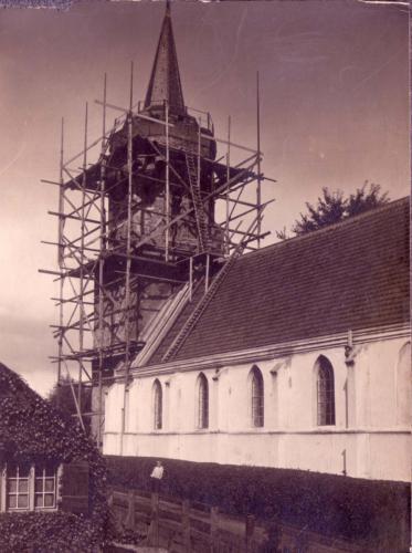 NH Kerk restuaratie toren door Jacob van Faassen 1