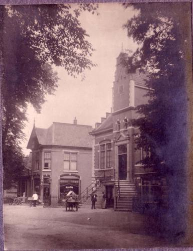 Raadhuis door Jacob van Faassen