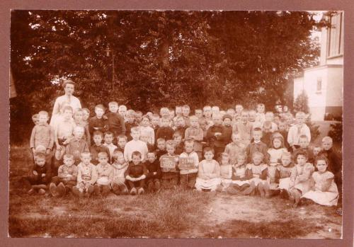 Schoolklas Dorpsshool, 1913