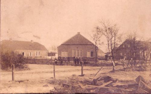 Smeekweg - hoek Klooster, 1925
