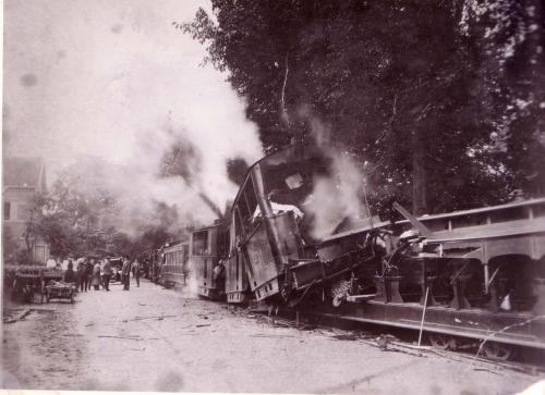 Tramongeluk -  7 augustus 1927 - Naarderstraat